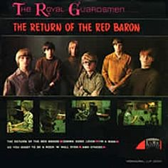 """The Return Of The Red Baron"" (1967, Laurie) by The Royal Guardsmen.  Their second LP.  (See: http://www.youtube.com/watch?v=Rage_CNYHz4)"