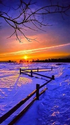 Beautiful Sky, Beautiful Scenery, Winter Wonderland, Landscape Photography, Sunset, Awesome, Nature, Outdoor, Beauty