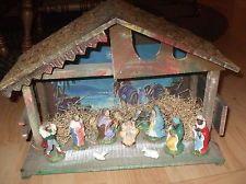 Vintage 50's 60's Christmas Nativity Set