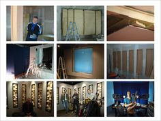 L'n'R recording studio for Luca Rustici, design by Dario Paini and D&A
