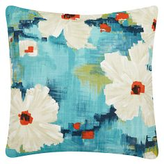 This painterly cushion would brighten up anyone's day.