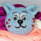 Free Crochet Pattern Cat Pin Cushion