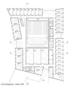 Zespół Szkół Muzycznych w Poznaniu. II Nagroda: Brzozowski / Grabowiecki Architekci + Banaszewski Dembiński Architekci