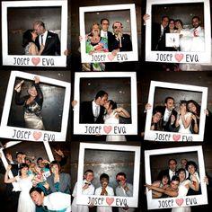 photocall boda la vida es cuca