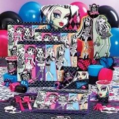 Monster High Halloween Costumes For Girls - Monster High is a great Halloween party theme for kids, tweens and teens.  These monster girls are a popular Halloween costume too.