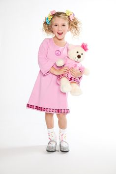 Maeve designed this dress for herself & her -- bear? :) {Holiday 2011} Design your own: http://ow.ly/8xTmk