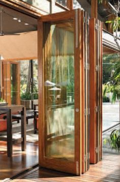 wood sliding glass doors | lanai folding doors