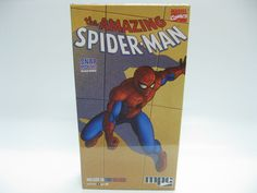 """MPC Item #764 - The Amazing Spider-Man EASY Model Kit SNAP 8"""" w Display Base NEW #MPC"""
