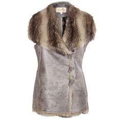 Scully Women's Faux Fur Vest