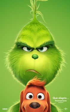 Seuss' The Grinch is returning to theatres voiced by Academy Award nominee Benedict Cumberbatch! Check out the just released The Grinch movie trailer! Watch The Grinch, The Grinch Movie, Mr Grinch, The Grinch Cartoon, Disney Wallpaper, Cartoon Wallpaper, Cool Wallpaper, Tree Wallpaper, Der Grinch Film