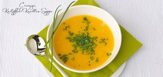 Cremige Kartoffel-Karotten-Suppe #laktosefrei #fructosefrei #vegan / creamy potatoe-carrots-soup #dairyfree #vegan