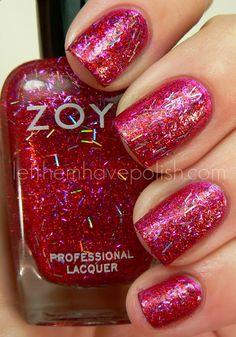 Zoya Nail Polish in Kissy - Bar Glitter!!! http://www.zoya.com