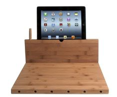 The top 12 worst gadgets of 2013: A cutting board with an integrated iPad holder. I don't know how I have survived without one until now.