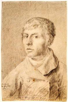 Self-portrait as a young man - Caspar David Friedrich