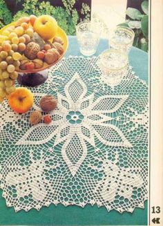 Crochet doilies from web - Barbara H. - Álbuns da web do Picasa