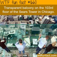 the 103rd floor of the sears tower -WTF fun facts