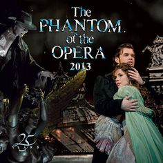 Phantom of the Opera Wall Calendar: The Phantom of the Opera, Andrew Lloyd Webber's musical phenomenon, tells the tragic love story of Christine, a beautiful opera singer, and The Phantom, a young composer shamed by his physical appearance into a shadowy existence beneath the majestic Paris Opera House.  www.calendars.com...
