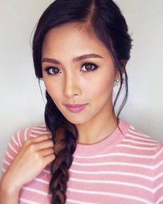 "132 aprecieri, 1 comentarii - dianaSuechiu (@kimxi.ph) pe Instagram: "" @chinitaprincess   #makeupbyqua  #hairbyrjdelacruz   #styledbypattyyap   #kimchiu #kimxi"""