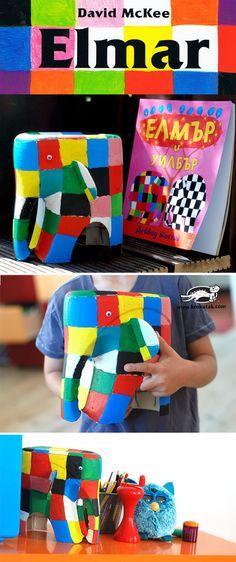 Elmar the Elephant kids crafts