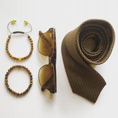 Tiger's Eye Bracelets www.silkandpealsonline.com Tiger Eye Bracelet, Pearl Jewelry, Napkin Rings, Style Inspiration, Pearls, Bracelets, Decor, Bangle Bracelets, Dekoration