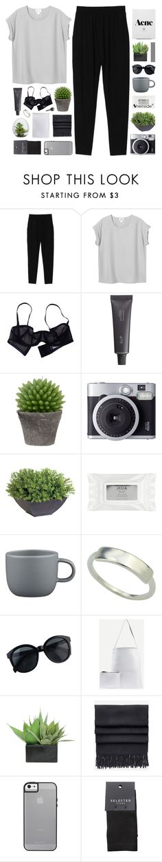 """""""I CAN'T GET ENOUGH, AUTOMATIC LOVE"""" by feels-like-snow-in-september ❤ liked on Polyvore featuring Monki, Eres, Bite, Broste Copenhagen, Fujifilm, Ethan Allen, Stila, CB2, Lux-Art Silks and Acne Studios"""