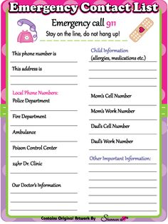 Read more about parenting now Emergency Contact Form, Emergency Call, In Case Of Emergency, Parenting Advice, Kids And Parenting, Parenting Styles, Chore Chart Kids, Diy Family Chore Chart, Chore Charts