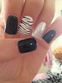 unique zebra nail art designs 2016