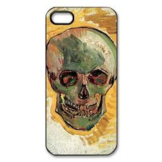 Skull By Vincent Van Gogh iPhone 5 Case Hard Slim Fit iPhone 5 Case on I'dBuyIt.At