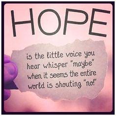 little voices.....