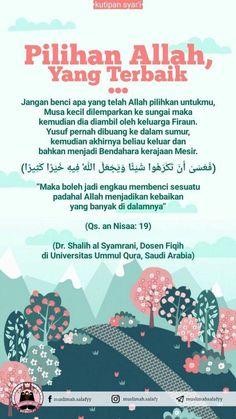 Ciri Laki-laki yang Baik Hijrah Islam, Islam Marriage, Doa Islam, Beautiful Islamic Quotes, Islamic Inspirational Quotes, Reminder Quotes, Self Reminder, Muslim Quotes, Religious Quotes