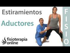 Estirar los músculos aductores - Estiramiento en posición de pie - YouTube