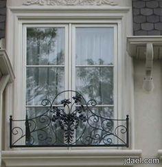 تصاميم نوافذ الزجاج لواجهات خارجيه للمنازل 2013