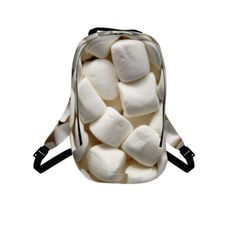 #Marshmellow by #ChefJenkins, #snacktime, #sugar, #marshmallow, #smores, #alloverprint, #backpack, #CitrusReport