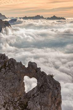 big heart stone - Dolomites, Italy  (copyright: Mitch Shindelbower)