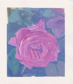 Michelle Farro - Return on Art< Gouache Painting, Watercolor Paintings, Pink Roses, Pink Flowers, Still Life Artists, Contemporary Paintings, Flower Vases, Watercolor Flowers, Original Art