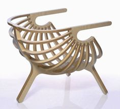 Lounge chair by Branca - The W_01