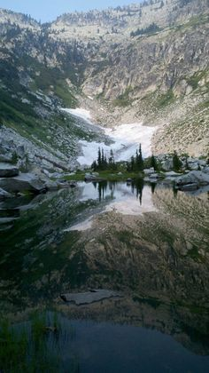 Forbidden lake - Trinity Alps Wilderness, California