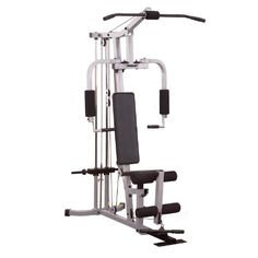 http://pins.getfit2gethealthy.com/pinnable-post/powerline-phg1000x-single-stack-home-gym/ Powerline PHG1000W Home Gym. Get a total body workout from one compact machine. The PHG1000W is designed to be versatile, durable, dependable and affordable. A standout feature on this machine is the patented press arm system that functions as a chest press station and replicates the pectoral dumbbell fly. Perform numerous high pulley, low pulley and leg ext...Click image for more info..