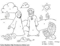 Samuel Listens to God Bible coloring page for Kids to