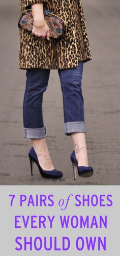 7 pairs of shoes every woman should own