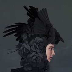 — worx - Absolutely stunning collages by Q-TA Art Director, Collage Artist from Tokyo. Animal Fashion, Fashion Art, Fashion Design, Hybrid Art, Protest Art, Dark Love, Black Wings, Fashion Photography Inspiration, Fantasy Costumes