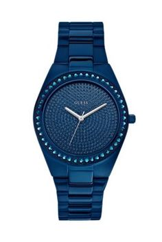 www.guess.com  Blue-Tone Radiant Glitz Watch | GUESS.com