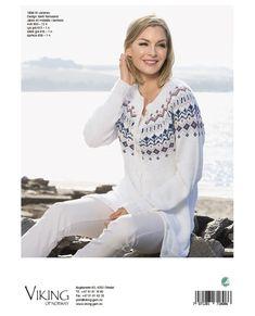 1808-16 Ariane jakke Norway, Vikings, White Jeans, Knitting, Blouse, Long Sleeve, Sleeves, Pants, Tops