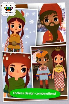 Brand NEW FREE App from Toca Boca - Toca Tailor Fairy Tales - Educational App