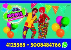 Contamos con animadores y #recreacionistas calificados celebrando eventos y #fiestasinfantiles llámanos o escríbenos y solicita tu cotización 3134205547 /3008484766 /4019892 /4125568 PAYASOS