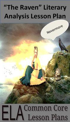 """""""The Raven"""" Literary Analysis Lesson Plan"""