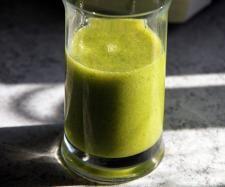 Rezept Energie-Kick grüner Smoothie - Der Sanfte von Kochfee Dithmarschen - Rezept der Kategorie Getränke