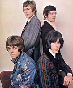 The Herd, early 1968. Great Regency jackets worn by Peter Frampton (bottom left) and Andy Bown (bottom right).