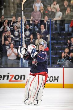 Season in Photos: Sergei Bobrovsky - 06/04/2013 - Columbus Blue Jackets - Photos