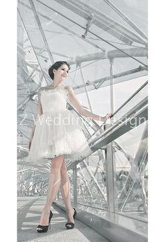 ZWEDDING Little White Dress | #zwedding #designergowns #designers #fashion #couture #wedding #bridalgowns #bridal #zweddingsg #zweddingsingapore #singapore #weddinggowns #gowns #weddingdress